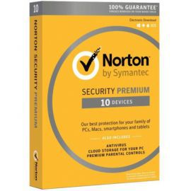 Program Symantec Norton Security Premium 3.0 PL (10 urządzeń, 1 rok)