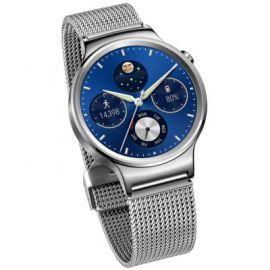 SmartWatch HUAWEI  Watch Srebrny ze stalową bransoletą siatkową