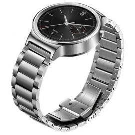 SmartWatch HUAWEI Watch Srebrny ze stalową bransoletą