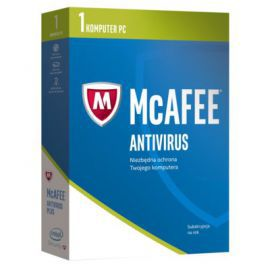 Program McAfee 2017 AntiVirus Plus (1 PC, 1 rok)