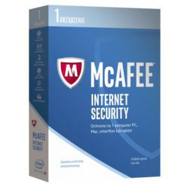 Program McAfee 2017 Internet Security (1 PC, 1 rok)