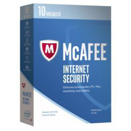 Program McAfee 2017 Internet Security (10 urządzeń, 1 rok)
