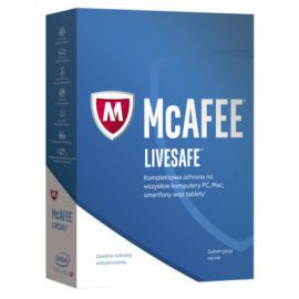 Program McAfee 2017 LiveSafe (1 rok)