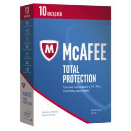 Program McAfee 2017 Total Protection (10 urządzeń, 1 rok)
