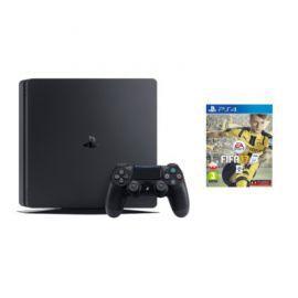 Konsola SONY PlayStation 4 Slim 1TB D Chassis Czarna + FIFA 17