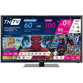 Telewizor SKYMASTER 32SH1000-TNT + telewizja TNTV (IPTV-DVB-T). Klasa energetyczna A