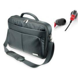 Torba SKINK SLBS156 Czarny + słuchawki UNITRA SD-10 Szaro-czerwony