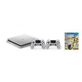 Konsola SONY PlayStation 4 Slim 500GB D Chassis Srebrna + Kontroler DualShock 4 Srebrny + FIFA 17