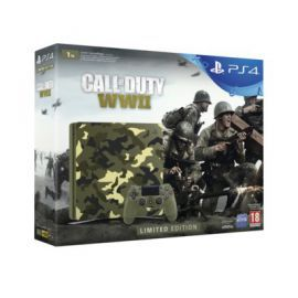 Konsola SONY PlayStation 4 Slim 1TB E Chassis Green Camouflage Limited Edition + Call of Duty: WWII + To jesteś Ty Voucher + Playstation Plus 14 dni