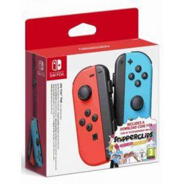 Produkt z outletu: Kontroler NINTENDO Switch Joy-Con Pair Neon Czerwony/Niebieski - Snipperclips Bundle