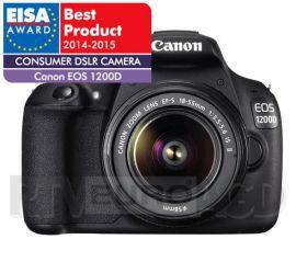 Canon EOS 1200D + 18 - 55 mm IS II