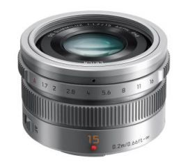 Panasonic H-X015E 15 mm f/1,7 (srebrny)