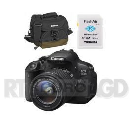 Canon EOS 700D + 18 - 55 mm IS STM + torba + karta 8GB