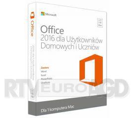 Microsoft Office 2016 dla Użytkowników Domowych i Uczniów Mac