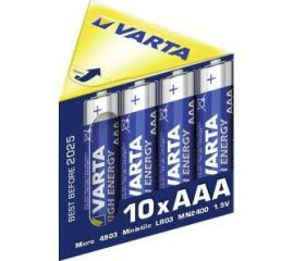 VARTA AAA High Energy Beam-Box (10 szt.)