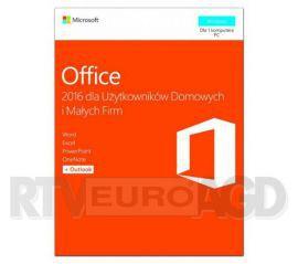 Microsoft Office 2016 dla Użytkowników Domowych i Małych Firm