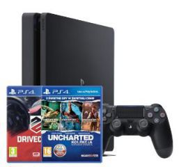 Sony PlayStation 4 Slim 1TB + 4 gry