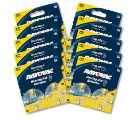 Rayovac baterie do aparatu słuchowego typ 10 (80 szt.)