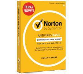 Symantec Norton AntiVirus Basic 1 urządzenie/1 rok