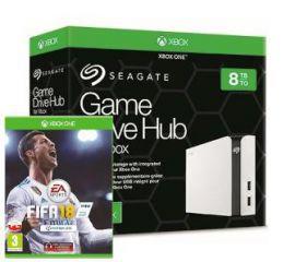 Seagate Game Drive HUB 8TB dla Xbox One STGG8000400 + gra FIFA 18 - przedsprzedaż