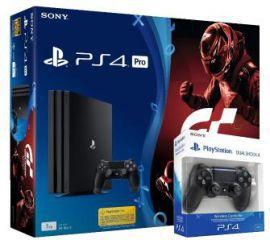 Sony PlayStation 4 Pro + gra + 2 pady