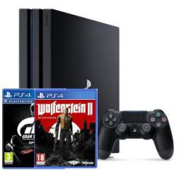 Sony PlayStation 4 Pro + 2 gry