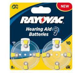 Rayovac baterie do aparatu słuchowego typ 10 (8 szt.)