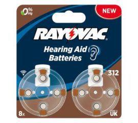 Rayovac baterie do aparatu słuchowego typ 312 (8 szt.)