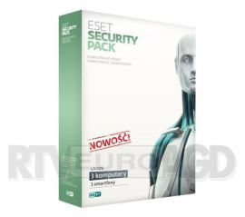 Eset Security Pack BOX kontynuacja 3stan/12m-cy