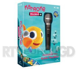 Techland Karaoke Mini Mini Plus z mikrofonem