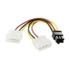 4world Kabel rozdzielacz zasilania 2xHDD / 6PIN BTX