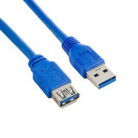 4world Kabel USB 3.0 AM-AF 1.5m niebieski