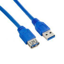 4world Kabel USB 3.0 AM-AF 1.8m niebieski
