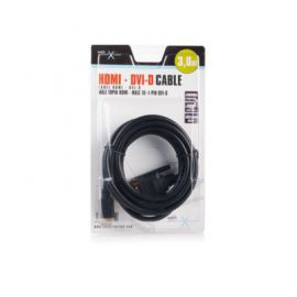 NATEC Kabel HDMI-DVI-D(18+1) 3M (BLISTER) EXTREME MEDIA