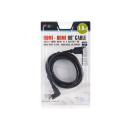 NATEC Kabel HDMI-HDMI V1.4 LAN 1,8M Kątowy (BLISTER) EXTREME MEDIA