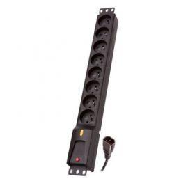 Lestar Listwa zasilająca LZRM 810 BW IEC 320, PDU, 5m