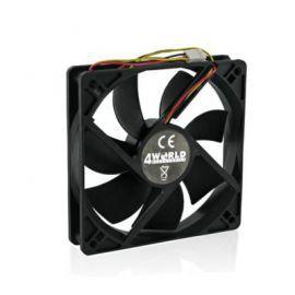 4world Wentylator CPU/GPU/obud. ATX 60x60x15mm 3-pin łożyska ślizgowe