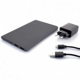 SUNEN Ultracienki powerbank 10000mAh, Li-Poly, 2xUSB