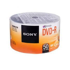 Sony DVD-R 16x 4.7GB (50 CAKE)