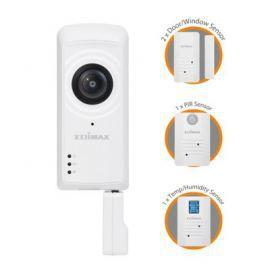 Edimax Technology IC-5170SC Smart Home Zestaw Kamera i czujniki PIR wilgotność temperatura otwieranie drzwi/okien