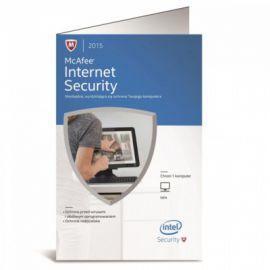 Intel McAfee Internet Security karta aktyw. 1 rok PL