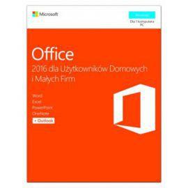 Microsoft Office Home&Business 2016 PL Win 32-bit/x64 P2  T5D-02786