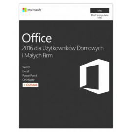 Microsoft Office Mac Home&Business 2016 PL 32-bit/x64 P2  W6F-00851