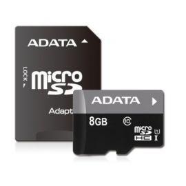 Adata microSD Premier 8GB UHS-1/class10 + adapter