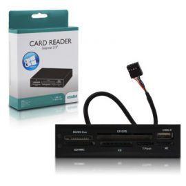 4world Czytnik kart wew. ALL in ONE USB czarny Win8