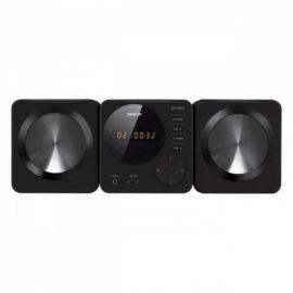 Sencor SHC XD013 BLACK Mikrowieża z DVD,2x5W RMS, Xvid,DVD R/RW,MP3, USB
