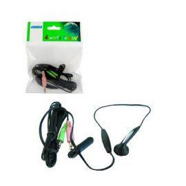4world Słuchawki z mikrofonem mini dla Skype 03386