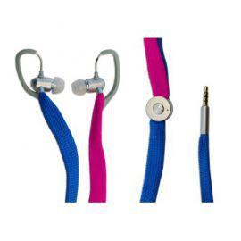 Typhoon UniqueLace zestaw słuchawkowy z mikrofonem kolor niebiesko/różowy w Alsen