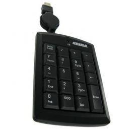 4world Klawiatura numeryczna USB ze zwijanym kablem