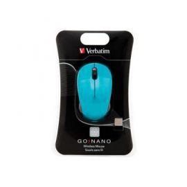Verbatim Mysz Go Nano bezprzewodowa 2,4GHz niebieska